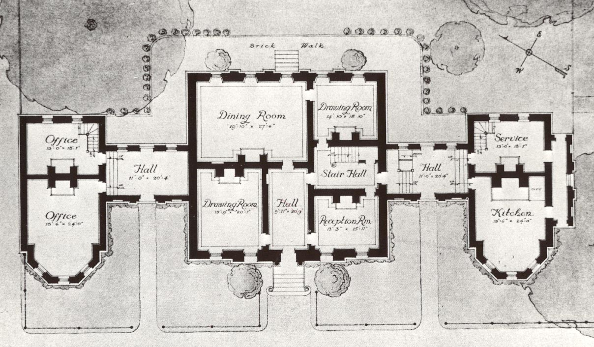 Hammond-Harwood House Floor Plan