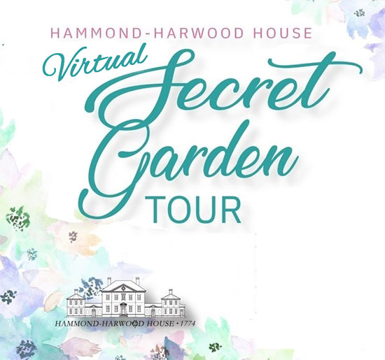 Virtual Secret Garden Tour 2020